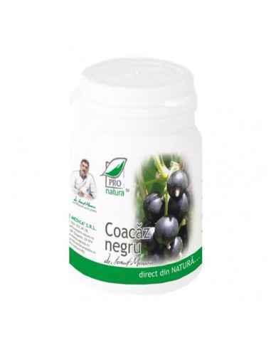 Coacaz Negru 60 capsule Pro Natura, Coacaz Negru 60 capsule Pro Natura Antiinflamator sistemic cu actiune similara hormonilor co
