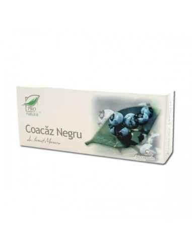 Coacaz Negru30 capsule Pro Natura Antiinflamator sistemic cu actiune similara hormonilor corticosteroizi (cortizon natural) in