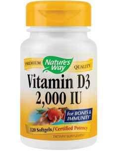 Vitamina D3 120 cps Secom