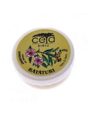 UNGUENT PT BATATURI 40GR/50ML Ceta Are actiune epitelizanta, emolienta, reface tesuturile. Este indicat in tratarea bataturilor