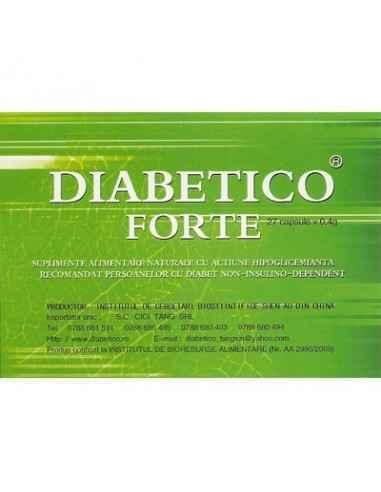 Diabetico Forte 27 capsule Cici Tang Diabetico forte regleaza glicemia si colesterolul!Suplimente alimentare naturale cu actiune