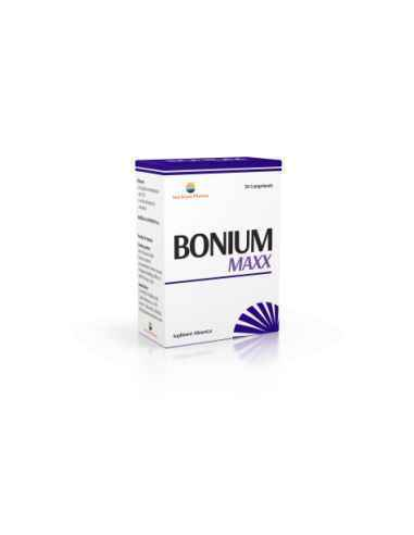 Bonium Maxx 30 cpr Sun Wave Pharma, Bonium Maxx 30 cpr Sun Wave Pharma Beneficii:sursă de calciu în carență sau necesar crescut