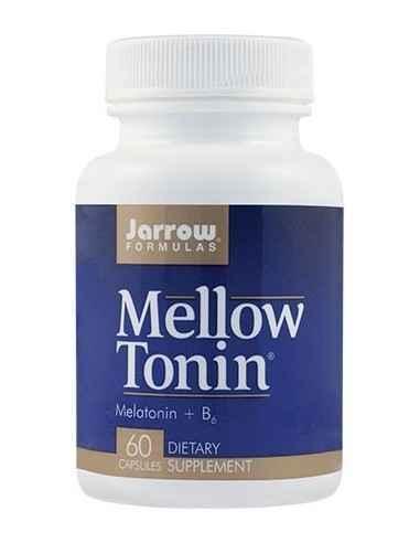 Mellow Tonin 60 capsule Jarrow Formulas, Mellow Tonin 60 capsule Jarrow Formulas Contine melatonina, neurohormon cu rol in atenu