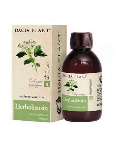 Herbotensin (Reglator al tensiunii) soluţie hidroalcoolică 200 ml Dacia Plant Herbotensin (Reglator al tensiunii)este un produ