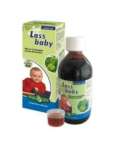 Sirop LassBaby 150 ml Erbavita, Sirop LassBaby 150 ml Erbavita Lass baby este un sirop laxativ, 100% natural, cu gust de coacaze