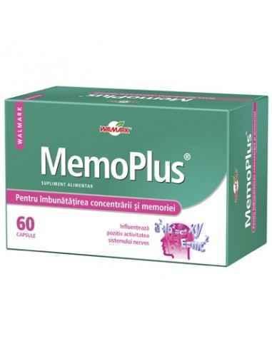 Memoplus 60 capsule Walmark MemoPlus conţine 4 ingrediente atent selectionate pentru imbunatatirea concentrarii si a memoriei.Gi