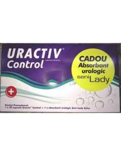 Uractiv Control 30 capsule + absorbant Lady Gratis Fiterman Pharma