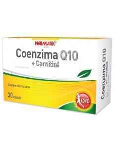 Coenzima Q10 + Carnitina 30 capsule Walmark