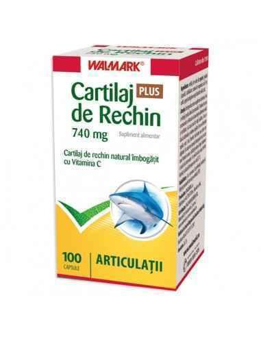 Cartilaj de rechin PLUS 740 mg 100 capsule Walmark, Cartilaj de rechin PLUS 740 mg 100 capsule Walmark Cartilaj de rechin natura