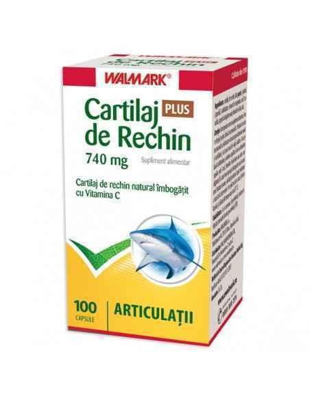 Cartilaj de rechin PLUS 740 mg 100 capsule Walmark