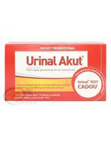 Urinal Akut 10 tablete + Urinal Test Gratuit Walmark, Urinal Akut 10 tablete + Urinal Test Gratuit Walmark Urinal Akut de la Wal