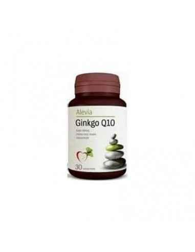 Ginkana Ginkgo Q10 30 comprimate Alevia, Ginkana Ginkgo Q10 30 comprimate Alevia Asocierea dintre ginkgo biloba, coenzima Q10 şi