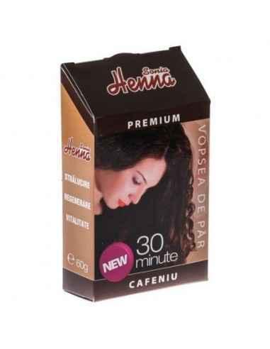 Vopsea par Henna Premium Cafeniu 60gr Kian Cosmetics