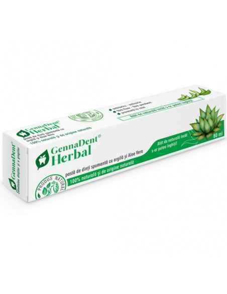 Pasta dinti spumanta GennaDent Herbal 80ml Viva Natura