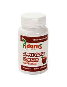 Otet Din Cidru De Mere (Apple Cider Vinegar) 90 capsule Adams