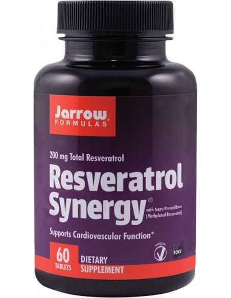 Resveratrol Synergy 200 mg 60 tablete Jarrow Formulas