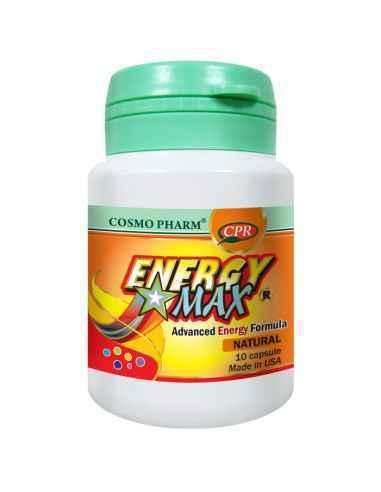 Energy Max 10 capsule Cosmo Pharm, Energy Max 10 capsuleCosmo Pharm Tonic energizant american de ultima generatie, alunga obose