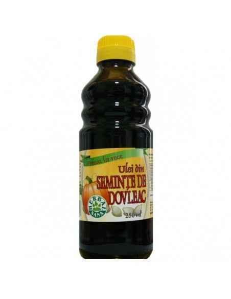 Ulei din seminte de dovleac presat la rece 250 ml Herbavit