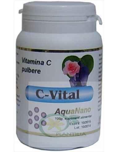 Vitamina C  Naturala pulbere 100 g Aghoras, Vitamina C Naturala pulbere 100 g Aghoras Datorită implicării ei în foarte multe re