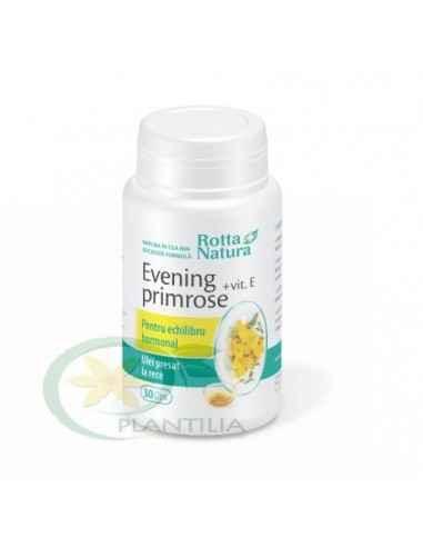 Evening Primrose + Vitamina E 90 capsule Rotta Natura