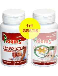 Saw Palmetto (Palmier Pitic) 500mg 60cps 1+1 Gratis Adams Vision