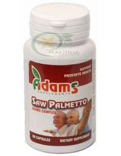 Saw Palmetto (Palmier Pitic) 500mg 60cps Adams Vision