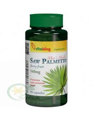 Extract de Palmier Pitic (Saw Palmetto) 540 mg 90 capsule Vitaking, Extract de Palmier Pitic (Saw Palmetto) 540 mg 90 capsule Vi