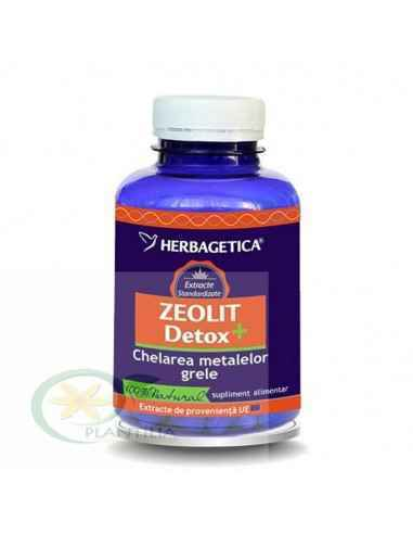 Zeolit Detox+ 180 capsule Herbagetica, Zeolit Detox+ 180 capsule Herbagetica Protejează celulele împotriva stresului oxidativ, i