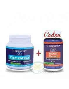 Pachet Stem Energy 250ml + Zeolit Detox+ 60 capsule Herbagetica