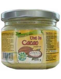Unt de Cacao Crud Nerafinat 200g Herbavit