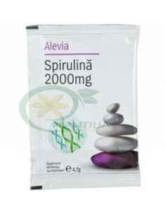 Spirulina 2000 mg plic Alevia