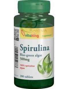 Spirulina 500 mg 200 comprimate Vitaking