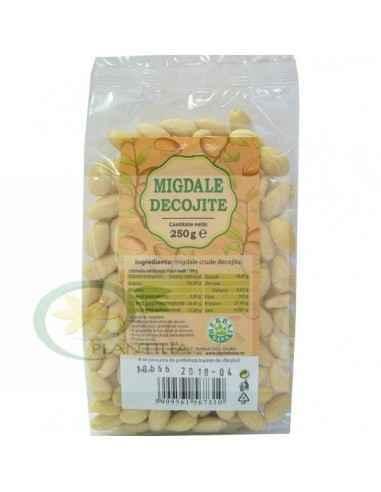 Migdale crude decojite 250 g Herbavit, Migdale crude decojite 250 g Herbavit Migdalele crude constituie o gustare hrănitoare și