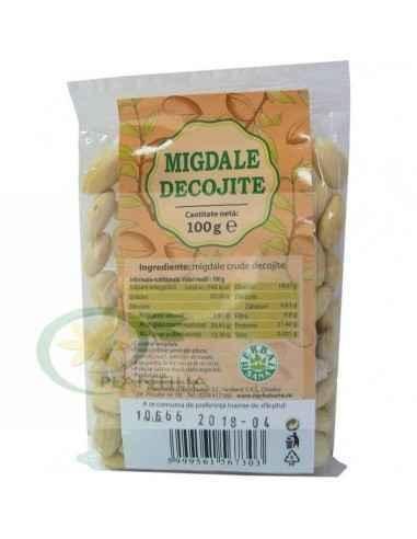 Migdale crude decojite 100 g Herbavit, Migdale crude decojite 100 g Herbavit Migdalele crude constituie o gustare hrănitoare și