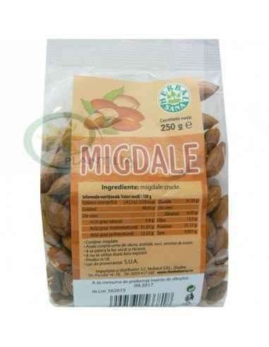 Migdale crude 250 g Herbavit, Migdale crude 250 g Herbavit Migdalele crude constituie o gustare hrănitoare și o sursă excelentă