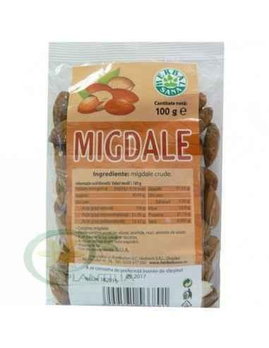 Migdale crude 100 g Herbavit, Migdale crude 100 g Herbavit Migdalele crude constituie o gustare hrănitoare și o sursă excelentă