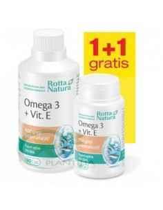 Omega 3 + Vitamina E 30 capsule Rotta Natura