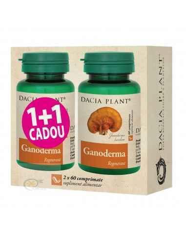 Ganoderma 60 comprimate 1+1 GRATIS Dacia Plant, Ganoderma 60 comprimate 1+1 GRATIS Dacia Plant Ganoderma comprimate este un prod