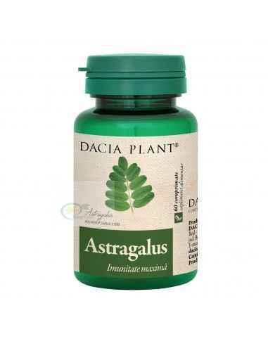 Astragalus 60 cpr Dacia Plant, Astragalus 500mg 60 comprimate Dacia Plant Astragalus comprimate este un supliment alimentar care