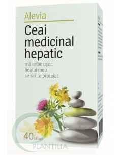 Ceai Medicinal Hepatic 40 doze Alevia
