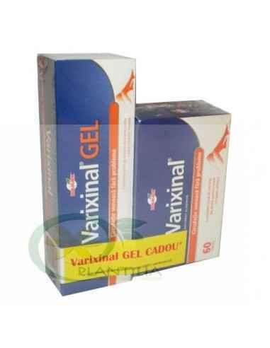 Varixinal 60 tablete + Varixinal Gel 75 ml GRATIS Walmark, Pachet Varixinal 60 tablete + Varixinal Gel 75 ml GRATIS Walmark Efec