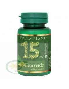 Ceai Verde 60 comprimate Dacia Plant