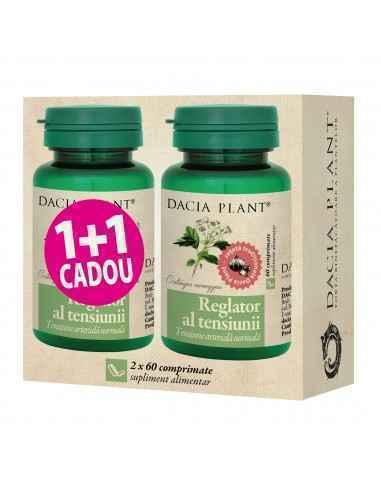 Reglator al Tensiunii comprimate 1+1 Cadou Dacia Plant Reglator al Tensiunii comprimate este un produs natural care ajută la men