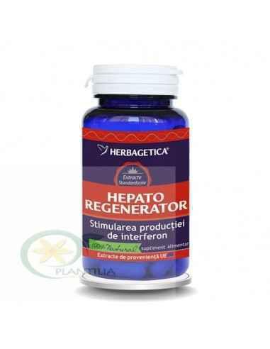 Hepato Regenerator 120 capsule Herbagetica