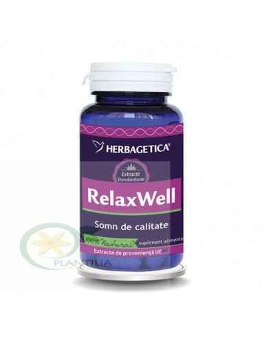 Relax Well(Somn) 120 capsule Herbagetica