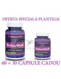 Relax Well(Somn) 60 + 60 capsule Herbagetica