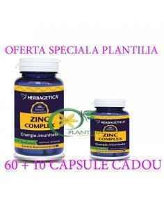 Zinc Complex 60+10 capsule GRATIS Herbagetica