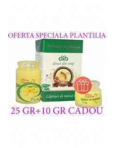Laptisor de matca pur 25 g + 10 g GRATIS Albina Carpatina