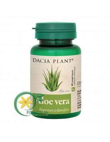 Aloe Vera 60 comprimate Dacia Plant, Aloe Vera 60 comprimate Dacia Plant Aloe Vera comprimate este laxativ și ajută la regenerar