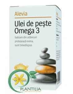 Ulei de Peste Omega 3 30 capsule Alevia
